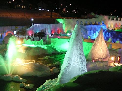 層雲峡氷瀑まつり 2016