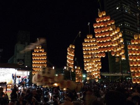 秋田竿燈祭 見どころ