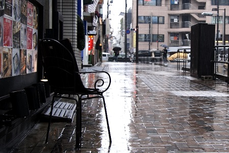 麻布十番祭り 雨天