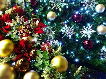 クリスマス 飾り お店